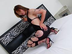 Sweet Carla Cardille Touches Herself In A Solo Model Video