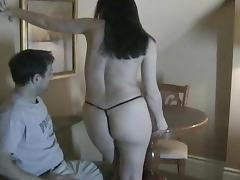 Sizzling Brunette With Small Beautiful Tits Giving Her Boyfriend A Lap Dance tube porn video
