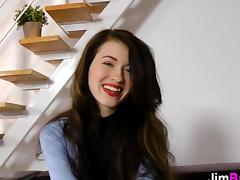 Gorgeous British schoolgirl fucks the old headmaster tube porn video