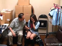 Japanese, Asian, Fingering, Group, Hairy, Japanese
