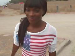ATKGirlfriends video: Ana Foxxx outdoor fun at the beach tube porn video