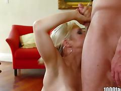 1000Facials Blonde pornstar Sarah Vandella is tube porn video