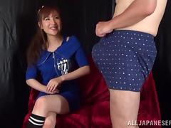 Asian hottie is fucked silly by a horny old man tube porn video