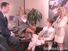 Sexy ladies are fucked silly vintage clip