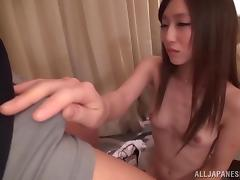 Gorgeous Japanese Teen In Cute Panties Gets Pounded
