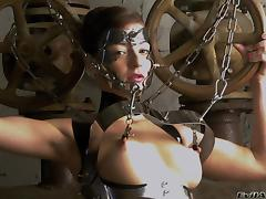 Bondage fun with smokinghot and submissive ladies porn tube video