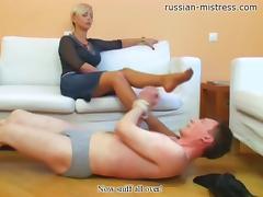 Russian-Mistress Video: Amanda tube porn video