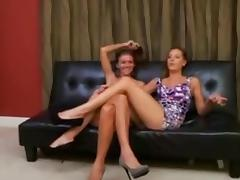 Two brats make the maid worship their feet