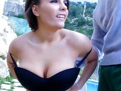 Girl With Big tits Get Tag-Teamed