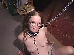 CHATTY SUBMISSIVE NERD COCKSUCKER tube porn video