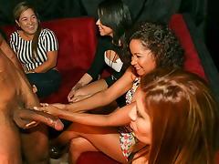 Crazy Party Girls Enjoying Their Male... tube porn video