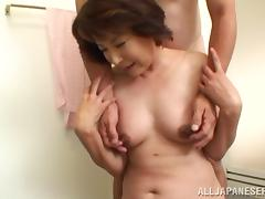 Mature Asian Woman With A Nice Ass Enjoying A Hardcore Fuck In A Hotel Room