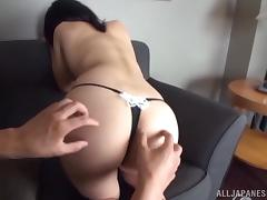 Fantastic doggy style sex with attractive Japanese girl