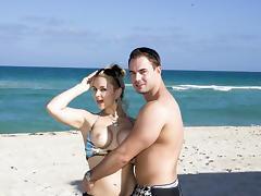 Sarah Vandella and the New York fella tube porn video