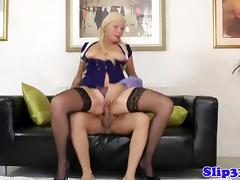 Blonde amateur plowed by old mans pole tube porn video