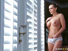 Oiled up rough sex for the busty Tanya Tate tube porn video