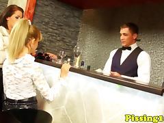### fetish glamour ### ###ing in bar