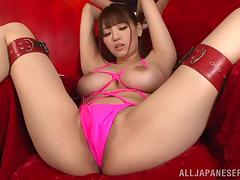 Shion Utsunomi is masturbated by a very lucky guy