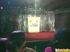 Dancing Bear Orgy Night at the Stripclub