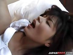 Teeny Asian schoolgirl getting nasty with her pervert professor tube porn video
