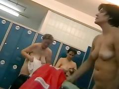 Hidden cam shows us some naked bodies