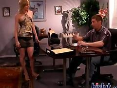 Lana is a true slut jerking and sucking it