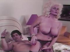 Vintage Big Tit Blonde