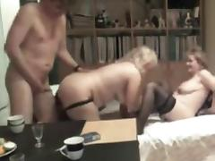 BBW and husband fun with a woman tube porn video