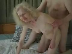 Granny fucks again