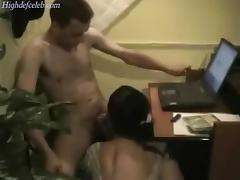 messy desk sex
