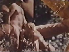 Vintage Big Cock Camping