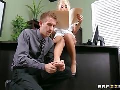 Boss, Big Cock, Big Tits, Blonde, Blowjob, Boss