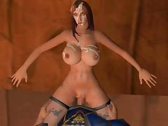 Yuki Services The Stormwind Guard tube porn video