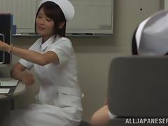 Japanese Nurse Gets Fucked by an Alien in a Fetish Video porn tube video