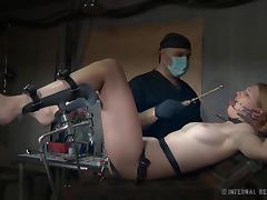 Gyno, BDSM, Brunette, Gyno, MILF, Piercing