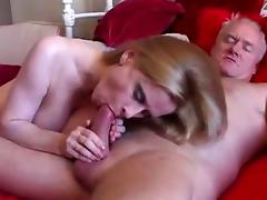 Voluptuous mature Lavender wants cum on her tits