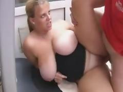 Mom and Boy, BBW, Big Tits, Boobs, British, Chubby