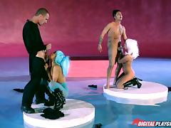blowjob conquest with cosplay girls