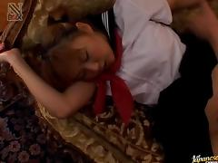 Yui Natsumi Asian babe gets creamed pussy tube porn video