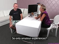Jack on his porn interview with female agent