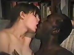 Movie Scenes of bushy wife with her dark bull tube porn video