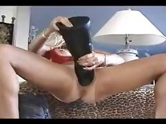 Large dildo porn tube video