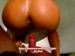Girlfriend with sexy ass gets fucked from behind