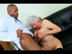 Chocolate, Black, Granny, Interracial, Mature, Old