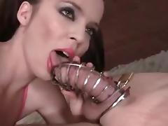 Chastity Lick
