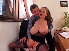 Huge Tits Treated Well