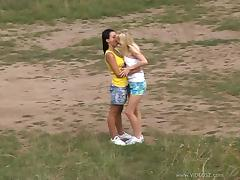 Denisa and Laetitia Licks And Fucks Their Pussies With Sex Toys