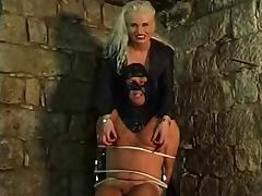Bondage, BDSM, Blonde, Bondage, Femdom, German