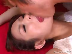 Maika Kawanami Gets Drilled In All Positions In Threesome Action
