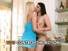Girl on girl tube porn video